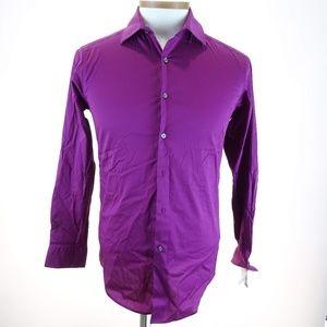 Alfani Men's Slim Fit Dress Shirt Long Sleeve
